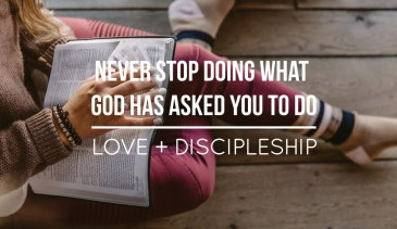 love-and-discipleship